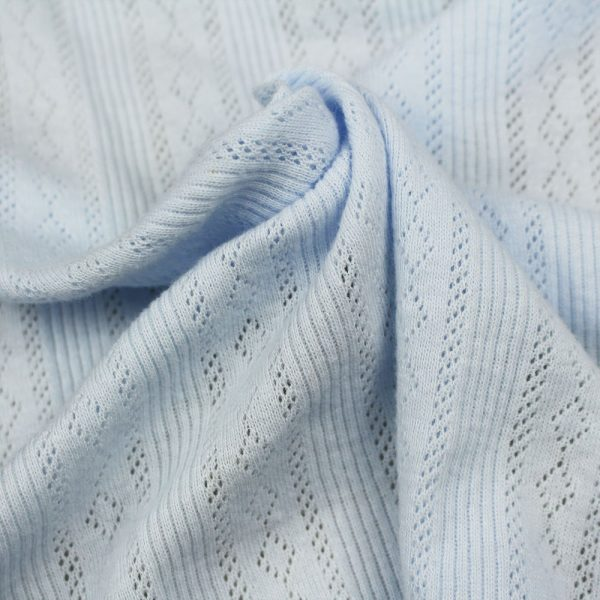 Pointelle Cotton fabric for t-shirt manufacturing Tirupur