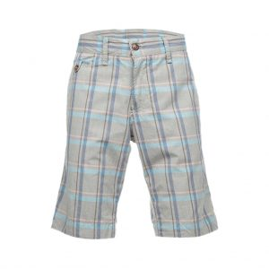 Silver With Blue Mens Bermudas-jjsoftwear