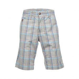 Silver With Blue Mens Bermudas-jjsoftwear