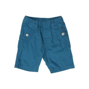 Light Blue Kids Bermudas-jjsoftwear