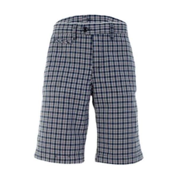 Blue Mens Bermudas-jjsoftwear