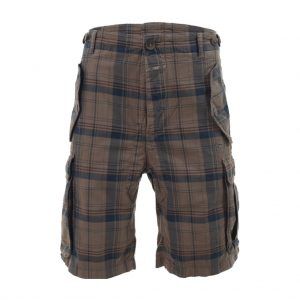 Brown Mens Bermudas-jjsoftwear
