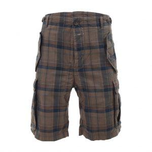 Brown Mens Bermudas-jjsoftwear