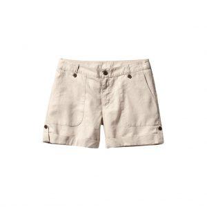 White Womens capri - shorts-JJsoftwear