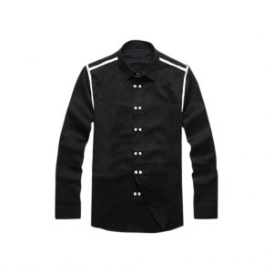 Black Full hand Mens Casual Shirt
