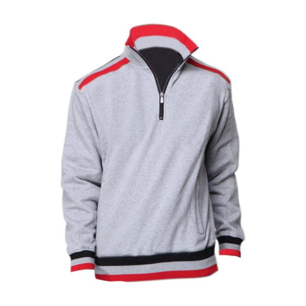 Ash With Red Mens jackets-JJsoftwear