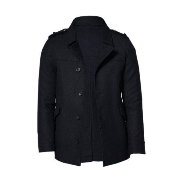 Black Mens jackets-JJsoftwear