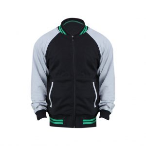 Black And Grey Mens jackets-JJsoftwear