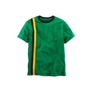 Green and Yellow kids polo T-shirts-JJsoftwear