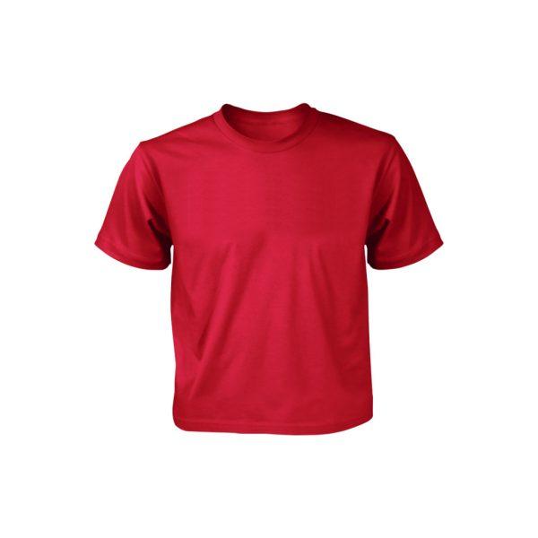 Red kids T-shirts-JJsoftwear