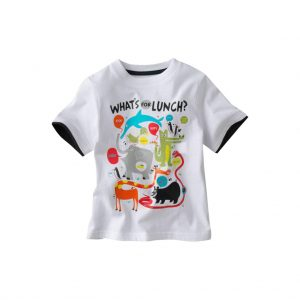 White kids T-shirts-JJsoftwear
