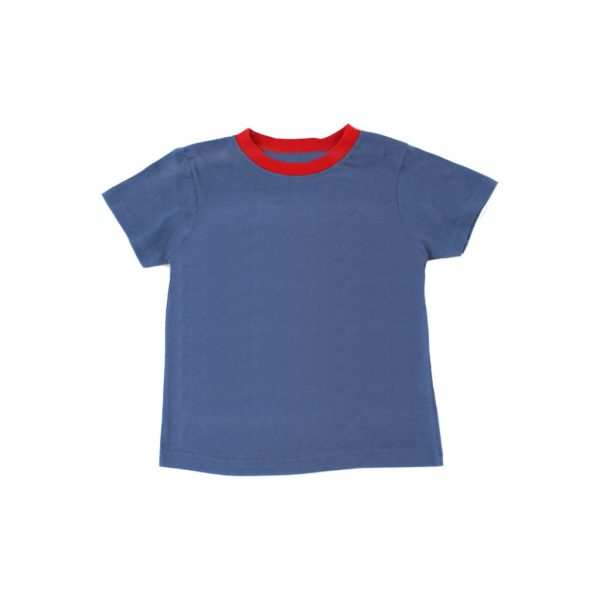 Blue kids T-shirts-JJsoftwear