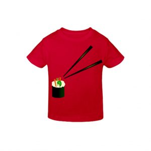 Red kids T-shirts-JJsoftwear
