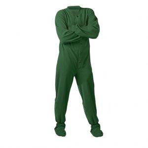 Green Mens Lounge Wear-JJsoftwear