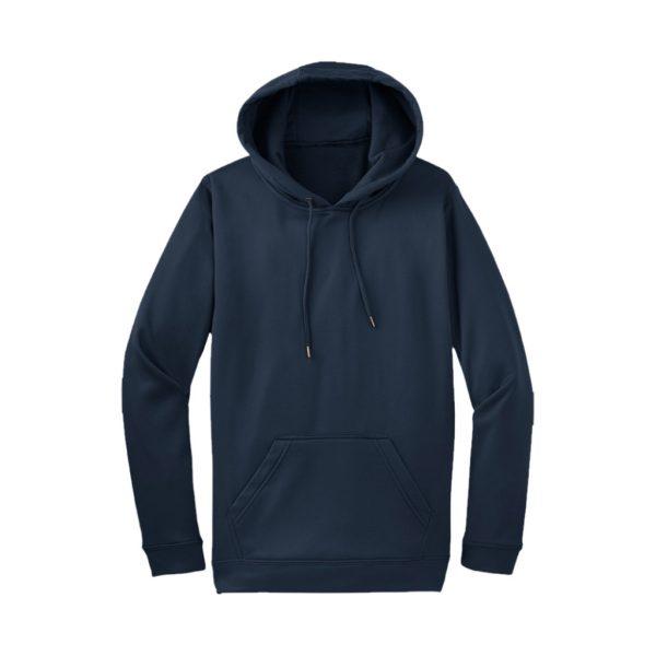 Navy Men's Hooded Jacket-JJsoftwear
