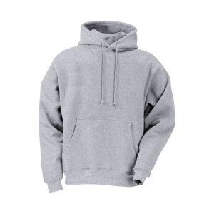 Silver Mens Hooded Jacket-JJsoftwear