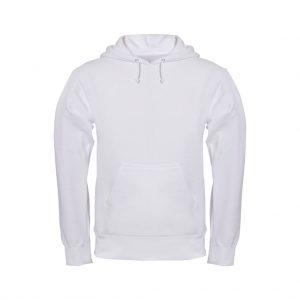 White Men's Hooded Jacket-JJsoftwear