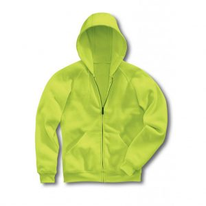 Lime Men's Hooded Jacket-JJsoftwear