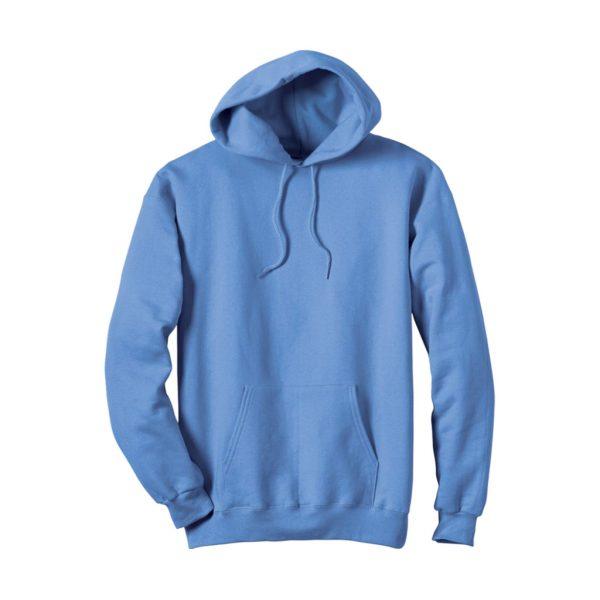 Light Blue Men's Hooded Jacket-JJsoftwear