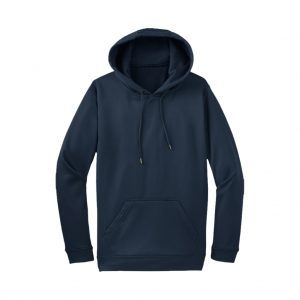 Navy Men's Hooded Jacket-JJsoftwear