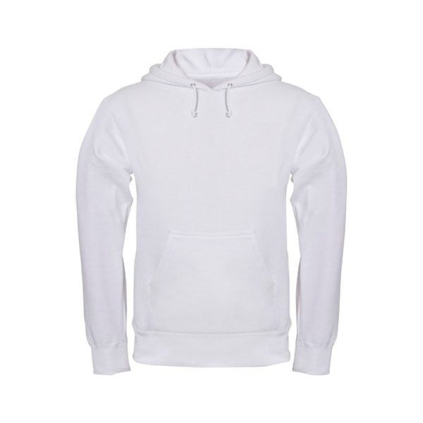 White Men's Hooded Jacket-JJsoftwear