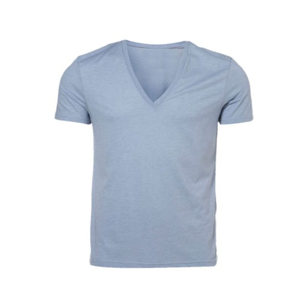 Dark Silver Mens Crew Neck T-Shirts-JJsoftwear