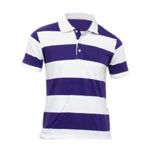 Mens Violet and White T-shirts-JJsoftwear