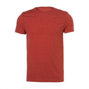 Light Orange Mens Crew Neck T-Shirts-JJsoftwear