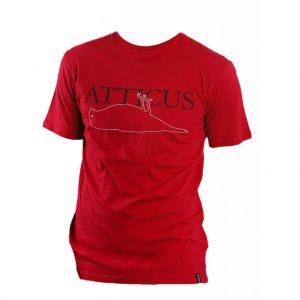 Mens Red Crew Neck T-Shirts-JJsoftwear