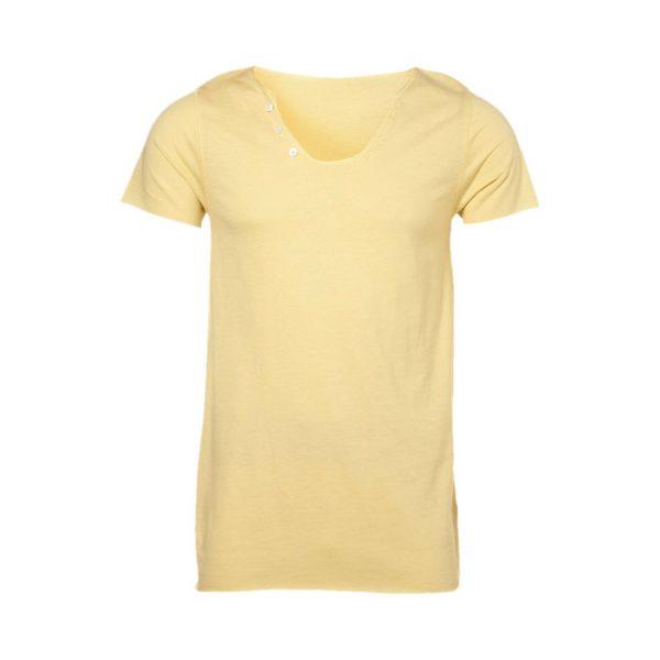 Yellow Mens crew-neck T-Shirts-JJsoftwear