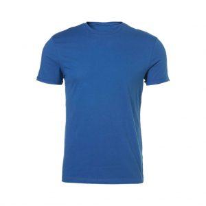 Light Blue Mens Crew Neck T-Shirts-JJsoftwear