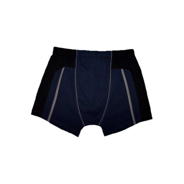 Dark Blue Men's Boxer-JJsoftwear