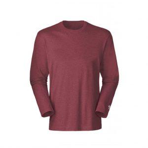 Brown Mens Long Sleeve T-Shirts-JJsoftwear
