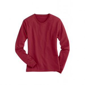 Red Mens Long Sleeve T-Shirts-JJsoftwear