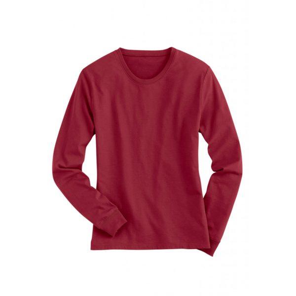 Red Mens Long Sleeve T-Shirts-JJsoftwear
