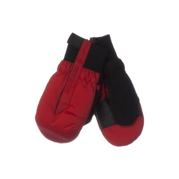 Black and Red Mittens-JJsoftwear