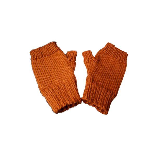 Orange Mittens-JJsoftwear