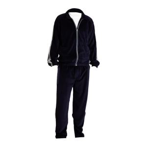 Black Mens Pajamas-JJsoftwear