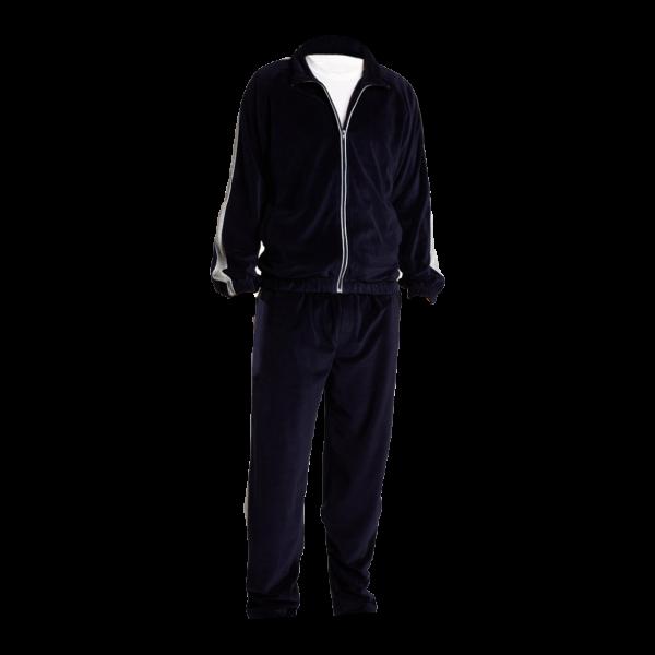 Black Mens Pajamas-JJsoftwear