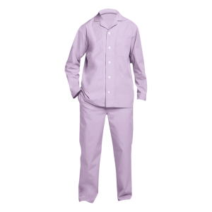 Light Rose Mens Pajamas-JJsoftwear