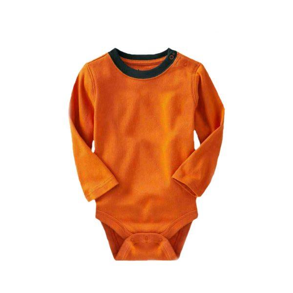 Orange Kids Romper Wears-JJsoftwear