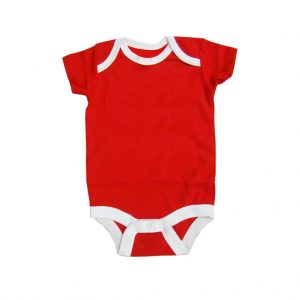 Red and White Kids Romper Wears-JJsoftwear