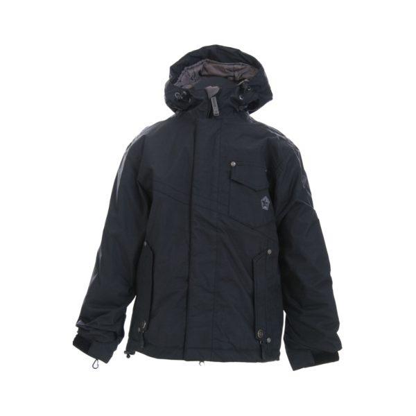 Black ski jackets-jjsoftwear