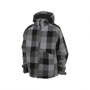 Kids Checked ski jackets-jjsoftwear