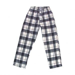 White And Grey Mens Sleeping wear-JJsoftwear