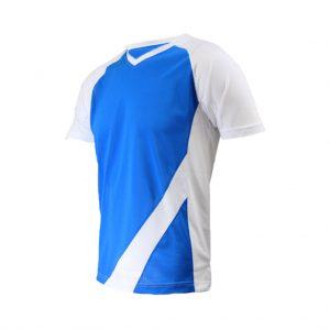 White And Blue Mens Sports Wear-JJsoftwear