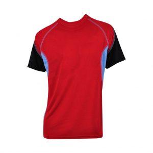 Red Mens Sports Wear-JJsoftwear