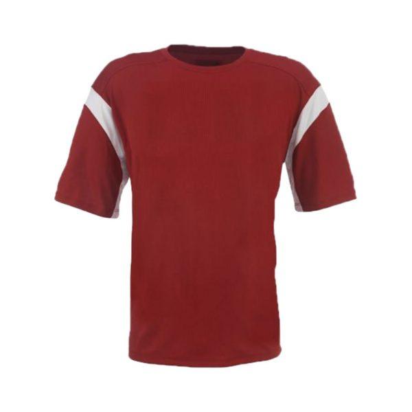 Dark Red Mens Sports Wear-JJsoftwear