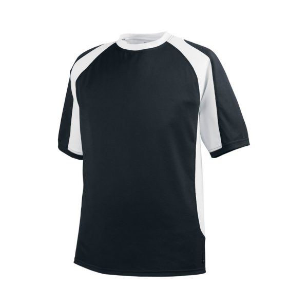 Black and White Mens Sports Wear-JJsoftwear