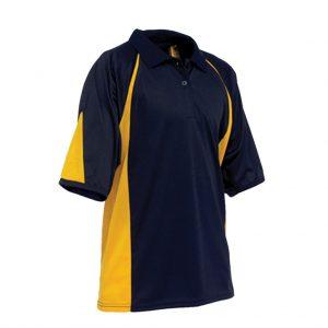 Blue and Yellow Mens Sports Wear-JJsoftwear